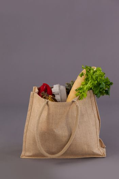 Vegetables in grocery bag