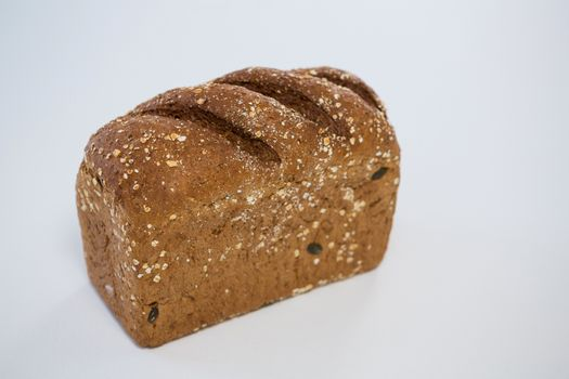 Close-up of loaf of bread
