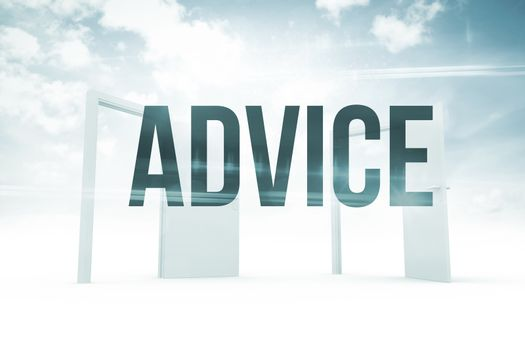 Advice against opening doors in sky