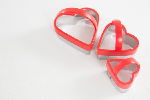 Heart shape cookie cutter in different size