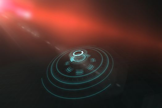 Digital image of volume knob 3d