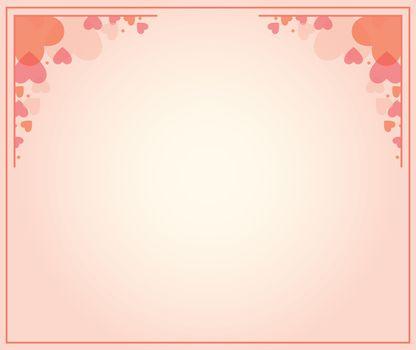 Vector illustration of a rectangular frame