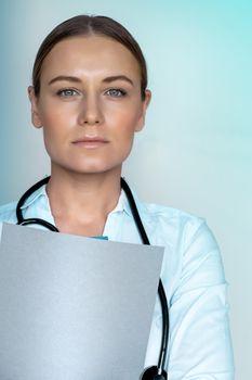 Confident doctor portrait