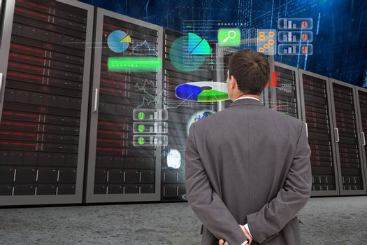data center with model 5