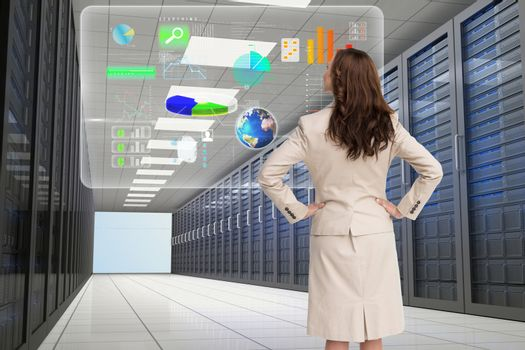 data center with model 8