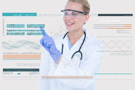 doctor interacting