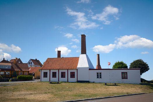 Industrial smokehouse in Denmark