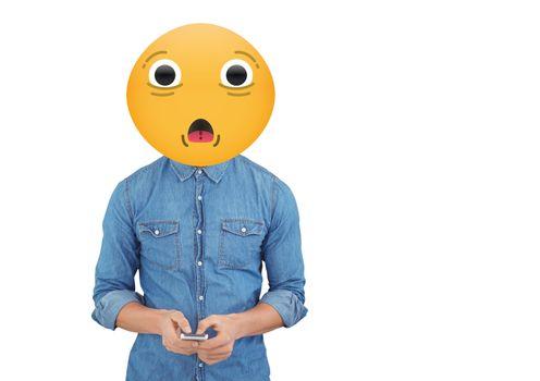 surprise emoji person
