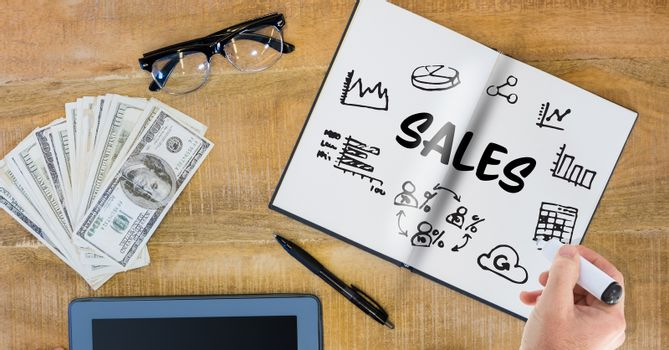 Writing Sales graphic
