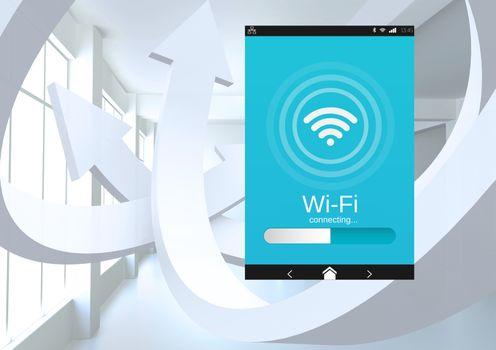 Wi-Fi App Interface