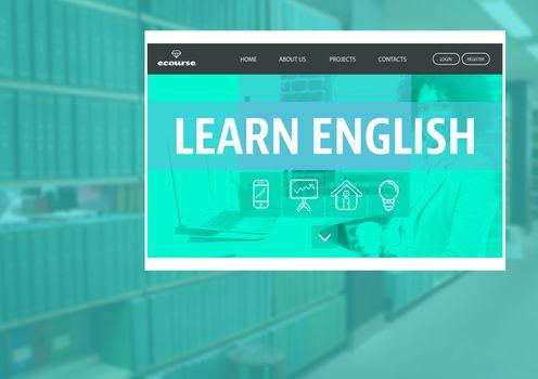 Learn English App Interface
