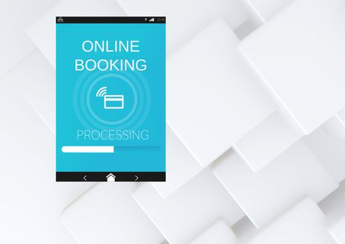 Online Booking App Interface