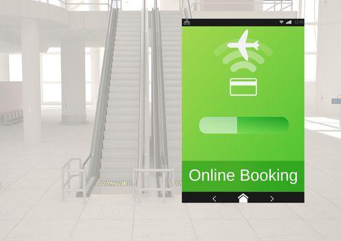 Online Booking Flight App Interface