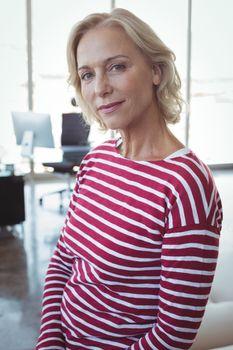 Portrait of mature entrepreneur