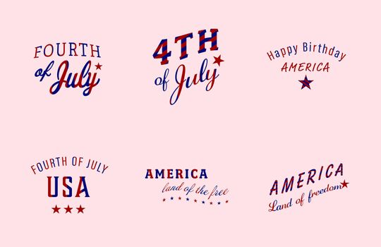 Vector image for Fourth of July