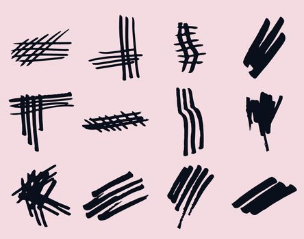 Vector set of hand-drawn doodles