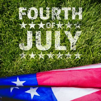 Composite image of celebrate fourth of july