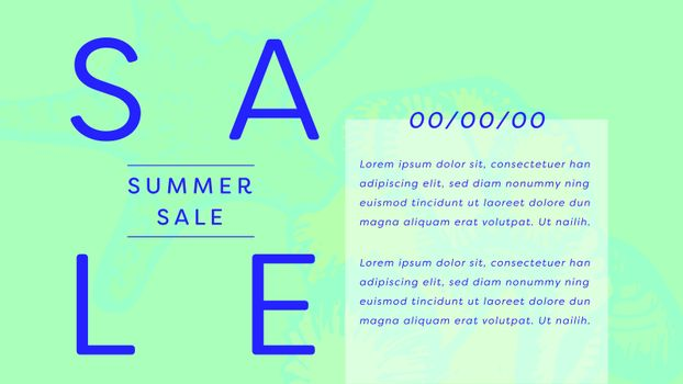 Summer sale discount coupon