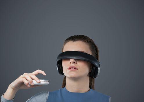 Virtual reality headset_background_0034