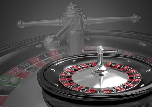 roulette machine perspective
