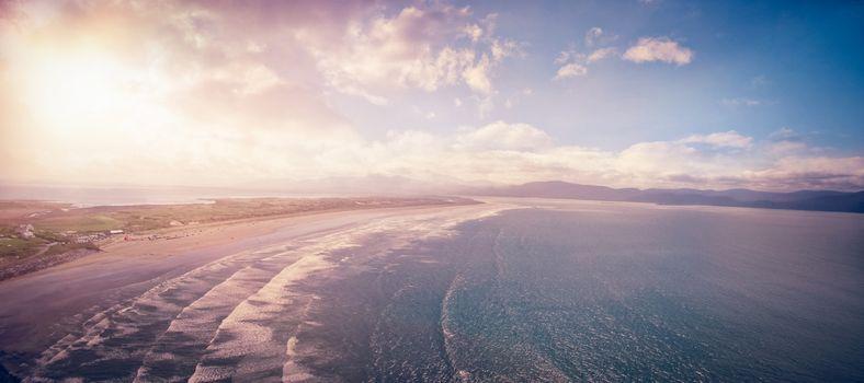 Idyllic view of seascape