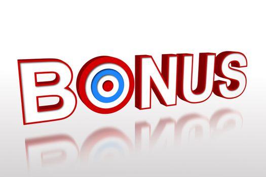The word bonus with target