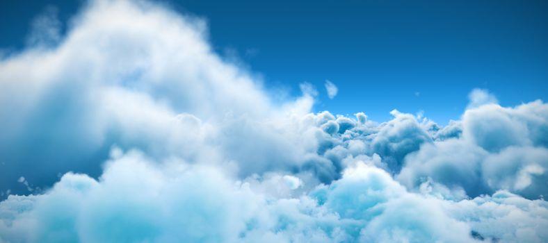 Tranquil scene of overcast against sky