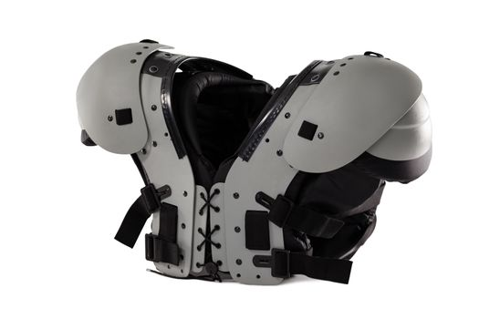 Close up of chest protector