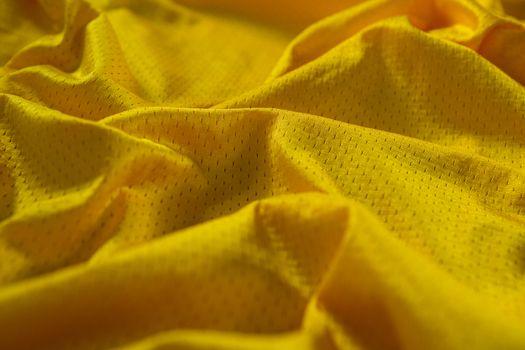 Close-up of American football jersey fabric
