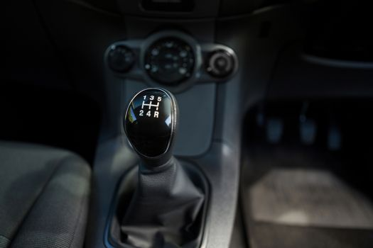 Car gear and dashboard