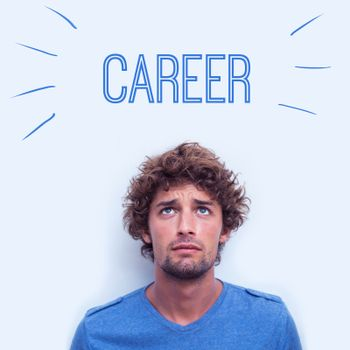 Career against anxious student