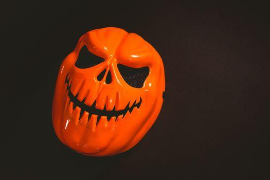 Monster mask on black background