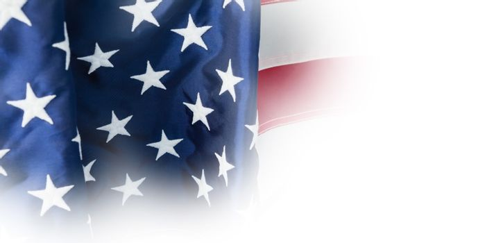 Flag with stripes and stars