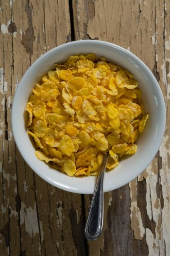 Bowl of wheaties cereal