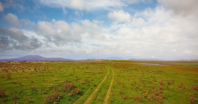 Calm view of landscape