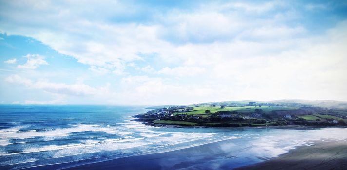 Idyllic view of sea