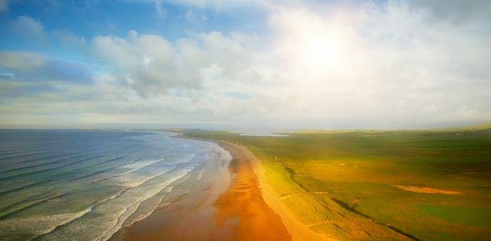 Idyllic view of beach