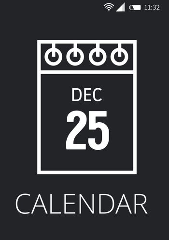 Calendar application interface