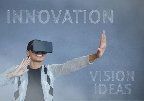 black guy with vr innovation