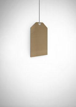 price gift tag hanging