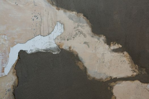 Rusty weathered wall