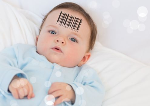 Clone baby with barcode
