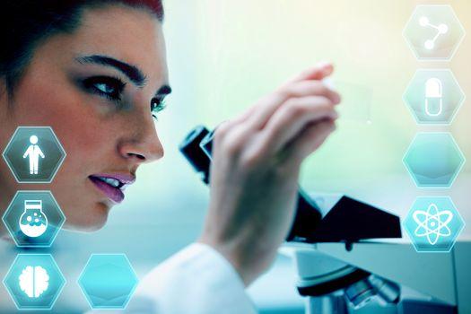 Composite image of medecine