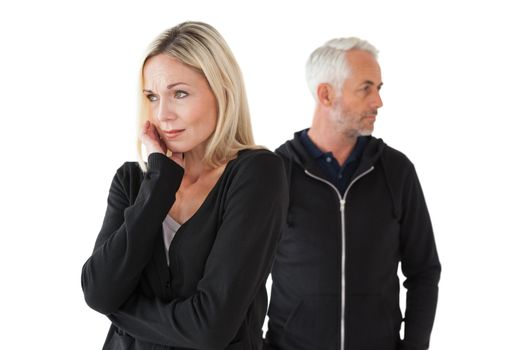 Mature couple having relationship problems