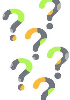 minimal question marks