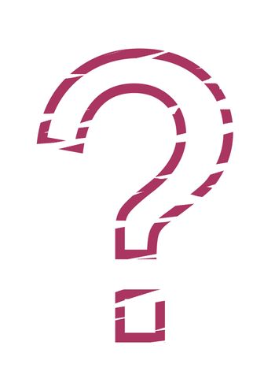stencil question mark