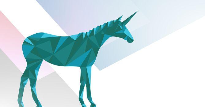 Minimal unicorn with shapes