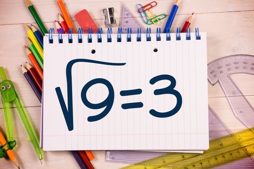 Composite image of square root of three