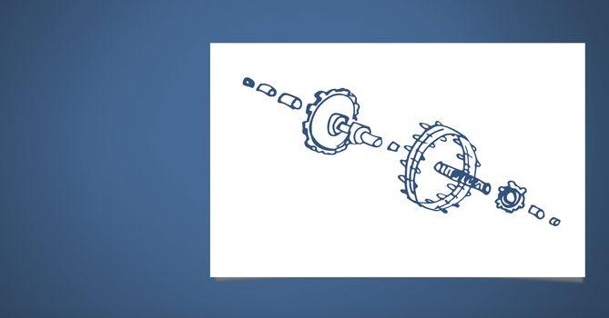 Sketch of mechanism engineering