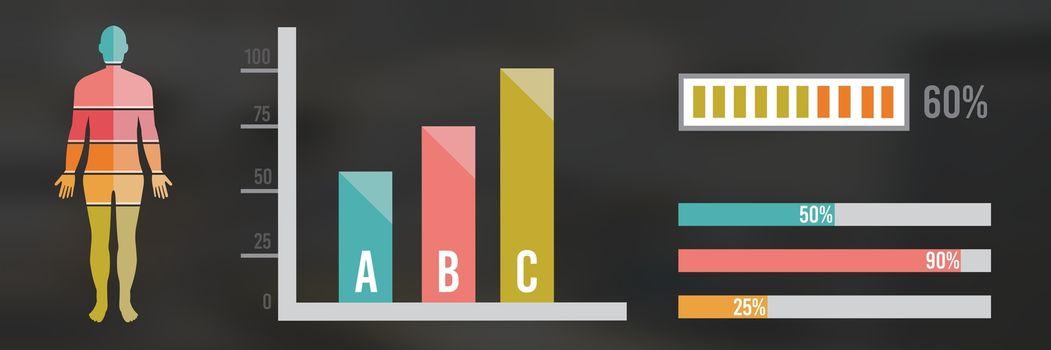 Human Body Chart statistics
